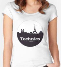 Technics Paris Women's Fitted Scoop T-Shirt