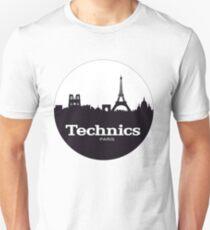 Technics Paris Unisex T-Shirt