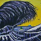 The Giant Wave by George Hunter