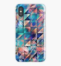 Textural Reflections of Turquoise iPhone Case/Skin