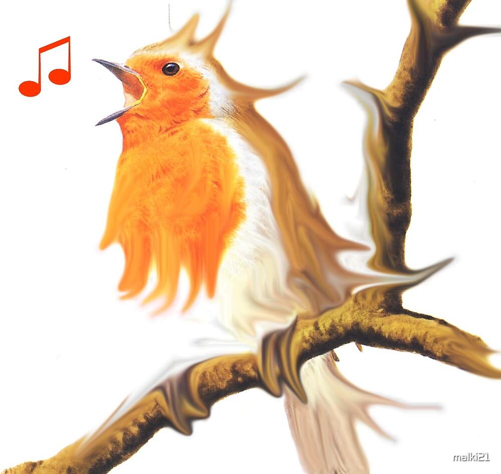 Singing Birdie by malki21
