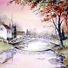 Arched Bridge by Farida Greenfield