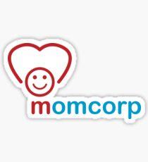 Momcorp : Inspired by Futurama Sticker