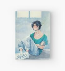 jumin in blue Hardcover Journal