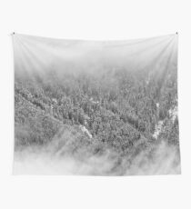 Crisp winter forest dreams Wall Tapestry