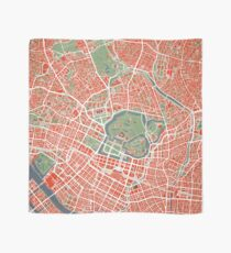 Tokyo city map classic Scarf