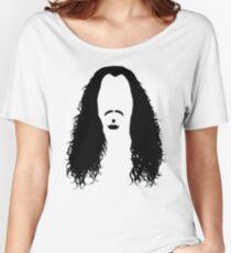 long hair Women's Relaxed Fit T-Shirt