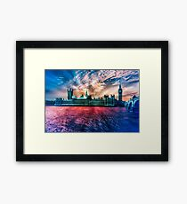 Colourful London  Framed Print