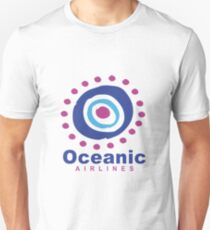 Oceanic Airlines : Inspired by Lost Unisex T-Shirt