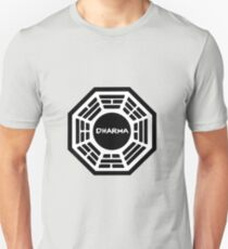 The Dharma Initiative : Inspired by Lost Unisex T-Shirt