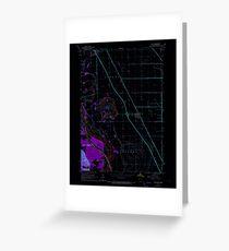 USGS TOPO Map Iowa IA Salix 175466 1964 24000 Inverted Greeting Card