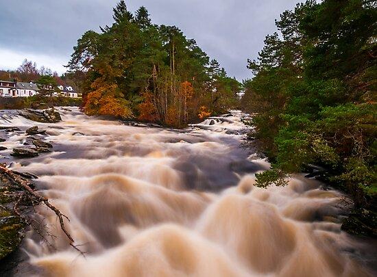 Raging waters  by Alan Sinclair