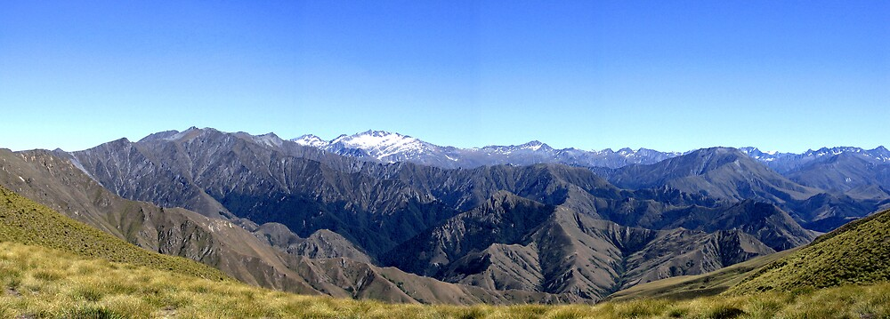 Queenstown's Mountains by SinaStraub