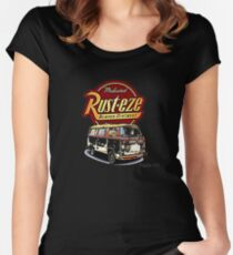 VW Bay Rusteze Women's Fitted Scoop T-Shirt