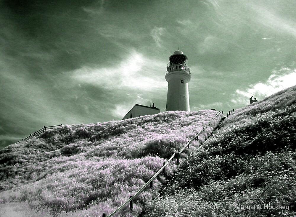 Flamborough lighthouse by Margaret Hockney
