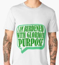 Burdened with Glorious Purpose Men's Premium T-Shirt