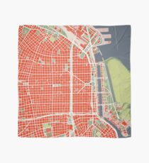 Buenos Aires city map classic Scarf