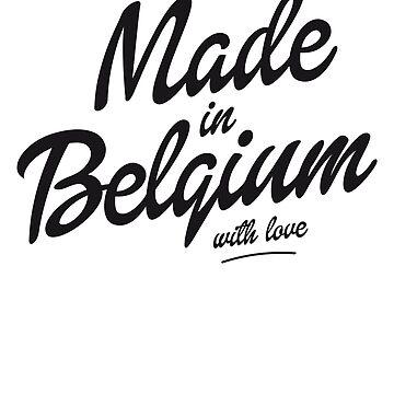 Made in Belgium by shirtbytee