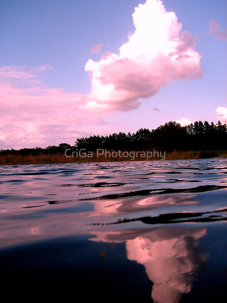 Cloud reflection  by CriGa Photography