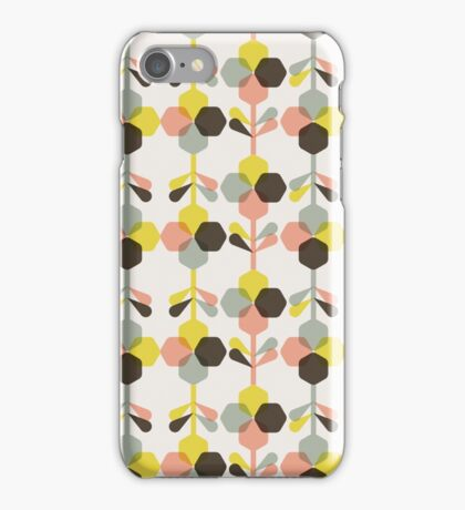 Blooms in blush iPhone Case/Skin