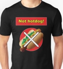 Not Hot Dog Silicon Valley Shirt Unisex T-Shirt