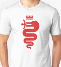 Alfa Romeo biscione (red) T-Shirt