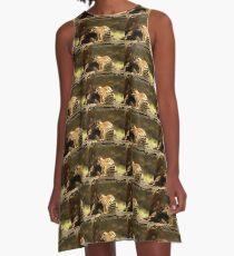 Australian Numbat A-Line Dress