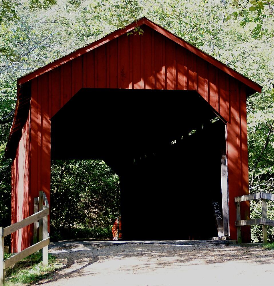 Covered Bridge by Jim Caldwell
