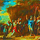 Salvator Rosa scene from the greek history by indusdreaming