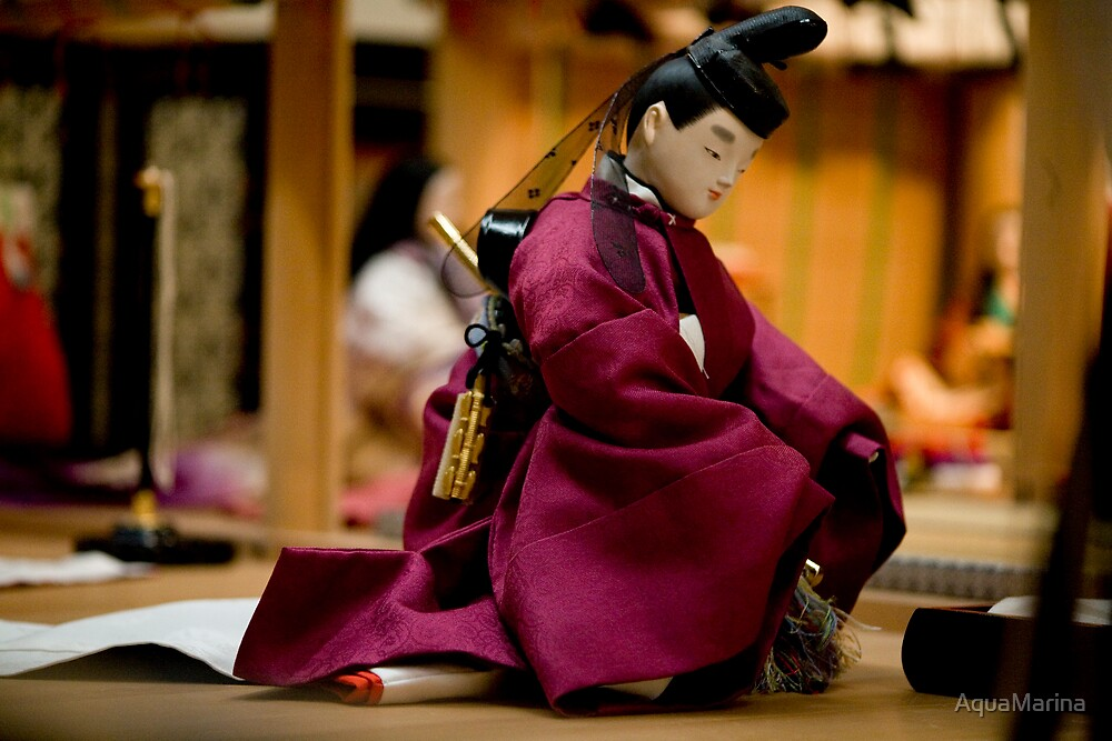 Bowing Samurai by AquaMarina