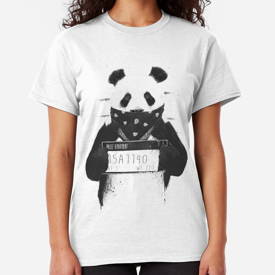 Bad panda (graphic t-shirt) Classic T-Shirt