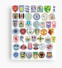 Football teams Metal Print