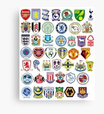 Football teams Canvas Print