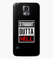 Straight Outta Hell Case/Skin for Samsung Galaxy