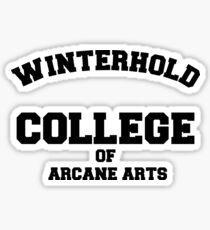 Winterhold College T Shirt Sticker