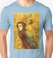 Birds In Gold Unisex T-Shirt