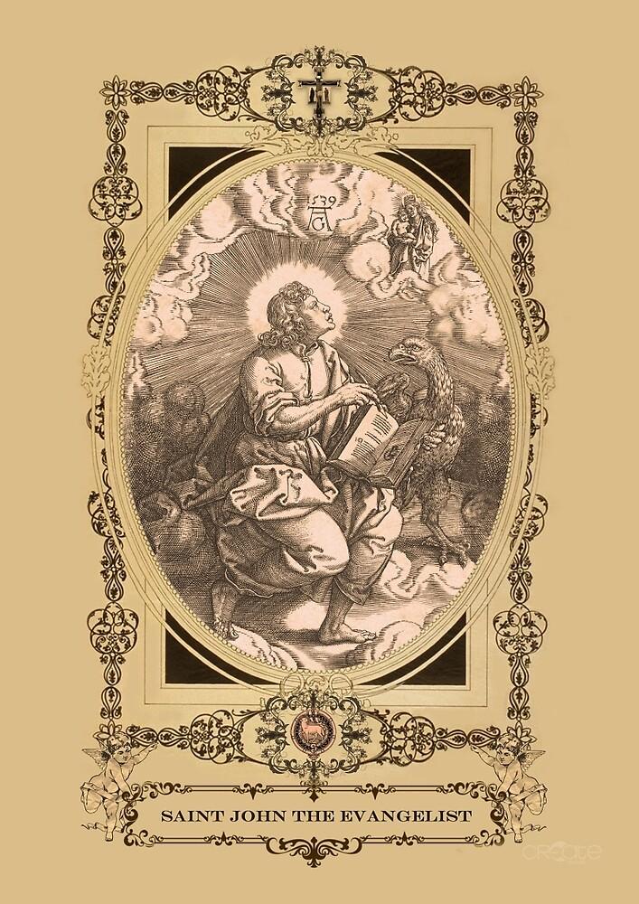 Saint John The Evangelist by fajjenzu