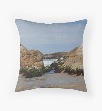 Clinton Rocks Throw Pillow