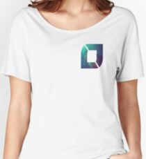 NoFlo Galaxy - TopRight Logo Women's Relaxed Fit T-Shirt