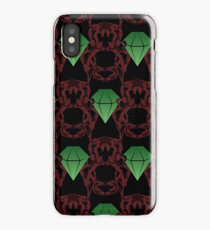 Emeralds & Demons [BLACK] iPhone Case/Skin