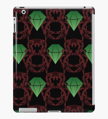Emeralds & Demons [BLACK] iPad Case/Skin