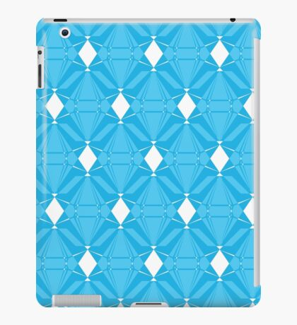 Abstract Emeralds [BLUE] iPad Case/Skin