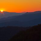 Last Light Over the Smokies by dlhedberg