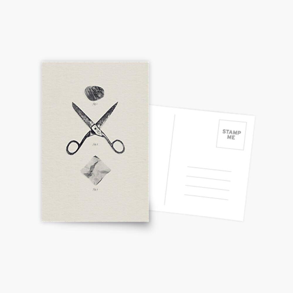 ROCA / TIJERAS / PAPEL Postal