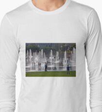 Mirror Fountains Long Sleeve T-Shirt