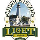 Fenwick Island Lighthouse by James & Laura Kranefeld