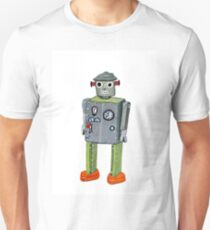 Retro Tin Robot No. 2 Unisex T-Shirt