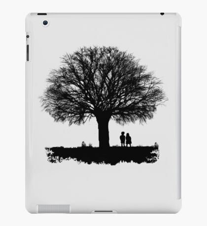 Taking in the view iPad Case/Skin