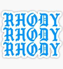 Pablo Rhody Sticker