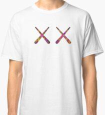 Kaws x flower custom Classic T-Shirt